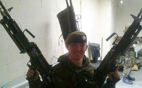 18-летний гвардеец Кэмерон Райли