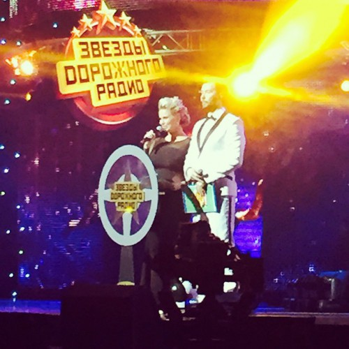 Анна Семенович стала ведущей на концерте Звезды Дорожного радио