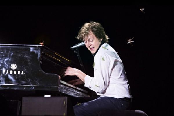 Во время концерта в Бразилии на Пола Маккартни напала саранча