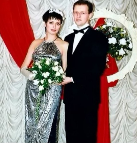Свадебное фото Арсения Яценюка