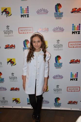 Марта Рак, представитель Украины на конкурсе Детская новая волна