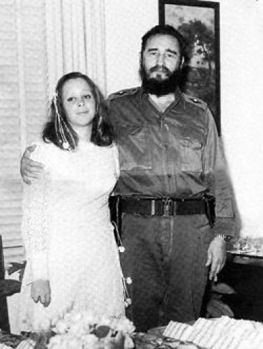 ФИдель Кастро и Нати Ревуэльта