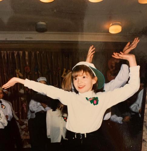 Алена Мороз в детстве