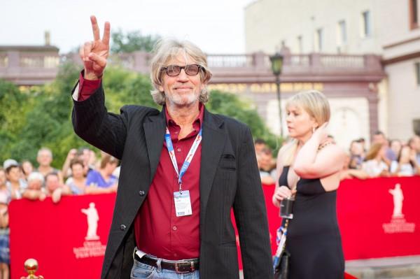 Эрик Робертс на красной дорожке в Одессе