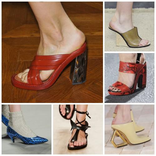 Дизайнеры предложили большой выбор обуви в сезоне весна-лето 2014