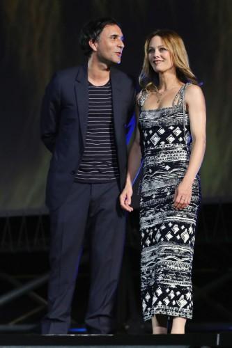 Ванесса Паради и Самюэль Беншетри фото