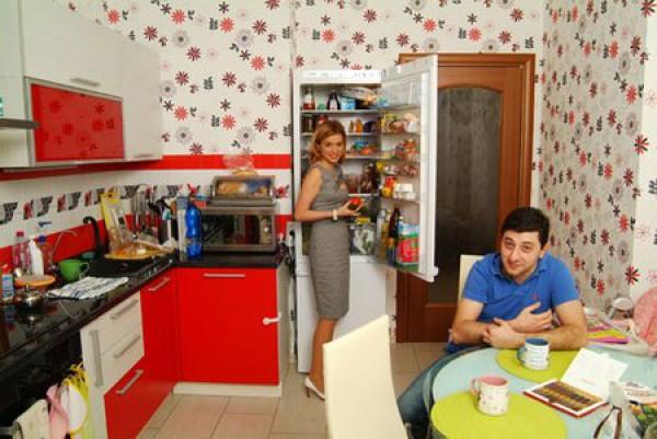 У Ксении Бородиной яркая кухня