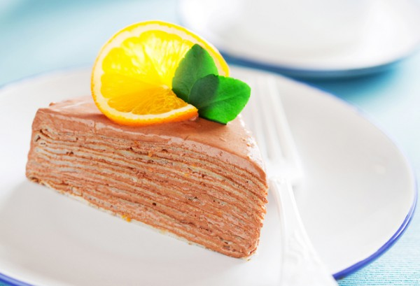 Блинный пирог на завтрак