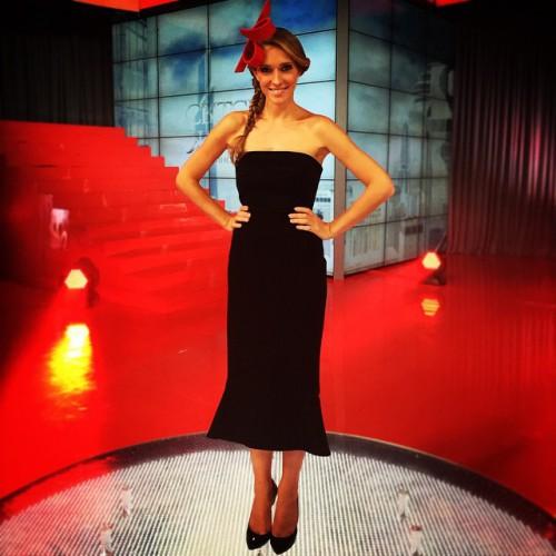 Украинская телевеведущая Катя Осадчая