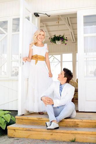 Александр Педан с женой Инной