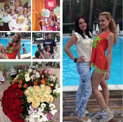 Дочке Евгении Власовой исполнилось 9 лет