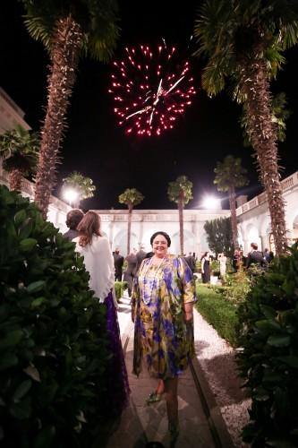 Великая княгиня Мария Романова приветствовала гостей