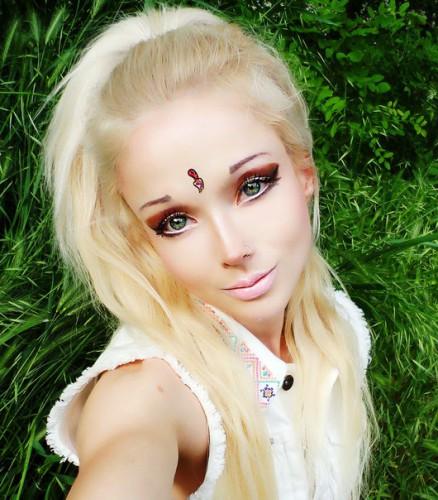 Украинская модель Валерия Лукьянова