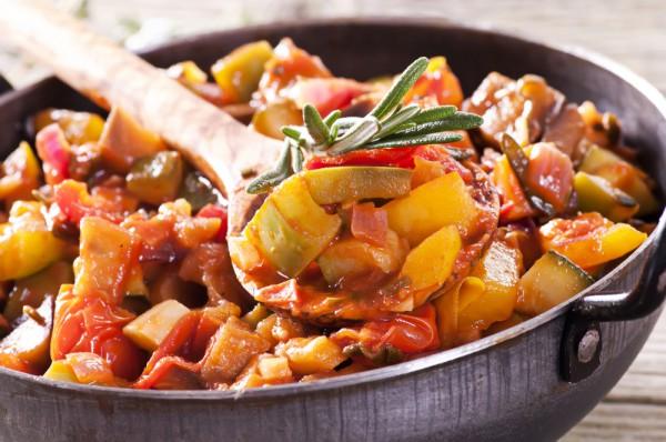 Рецепт                  Овощное рагу в прованском стиле