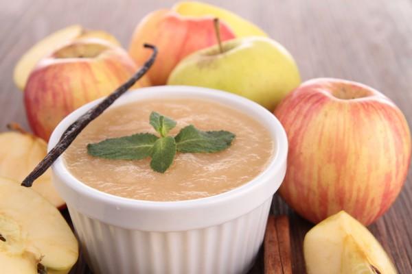 Нежный яблочный пудинг