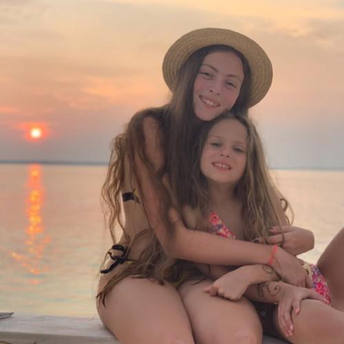Дочки Оли Поляковой Маша и Алиса