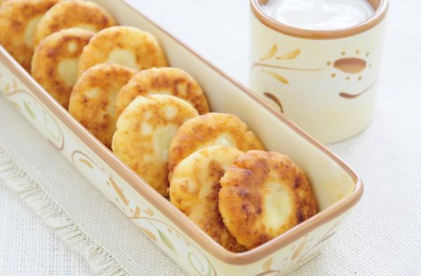 Экзотические сырники из духовки