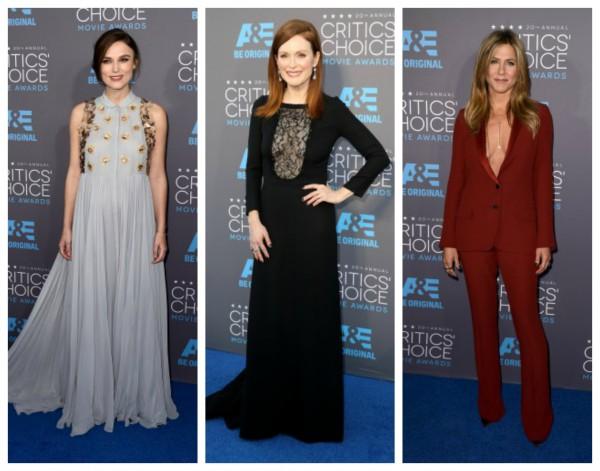 Critics' Choice Awards: Самые яркие наряды знаменитостей