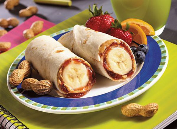 Меню для пикника: Фруктовые буррито