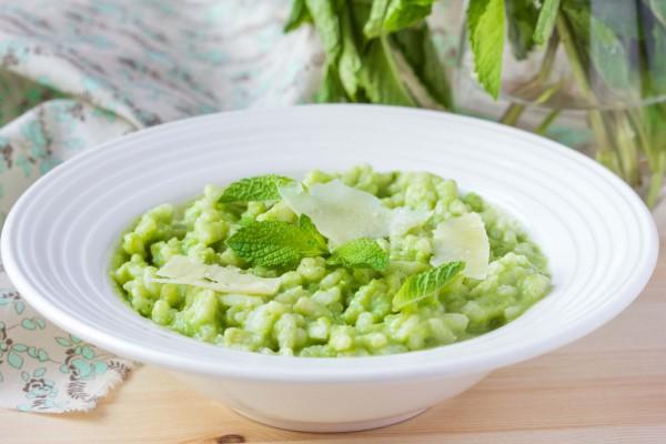 Рецепт с зеленым горошком