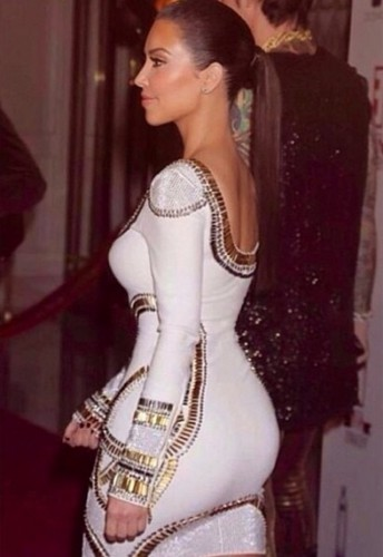 Ким Кардашьян до беременности