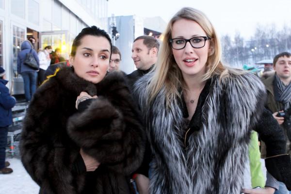 Тина Канделаки и Ксения Собчак когда-то были подругами
