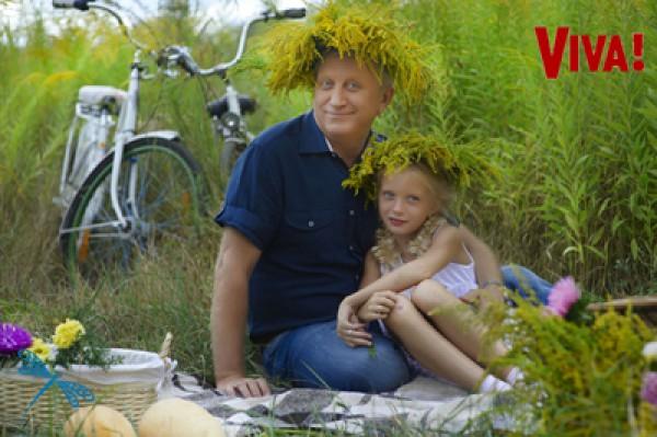 Владимир Горянский с дочерью