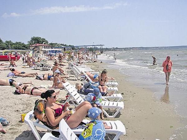 Пляжи Одессы: Лузановка
