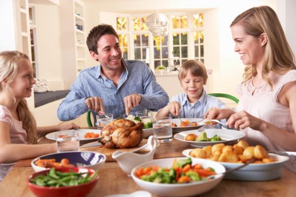 День благодарения – семейный праздник