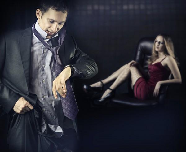 Женатый мужчина думает о сексе