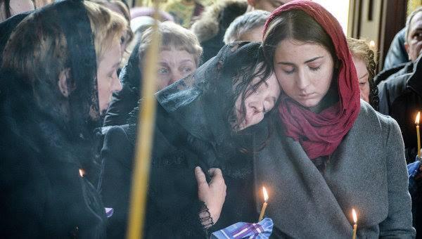 Похорон Олеся Бузины
