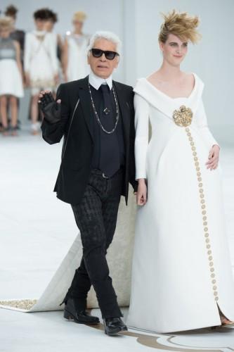 Карл лагерфельд свадебные платья