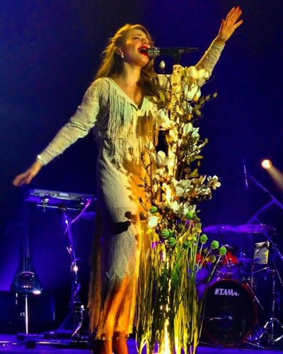 Тина Кароль на концерте в Северодонецке