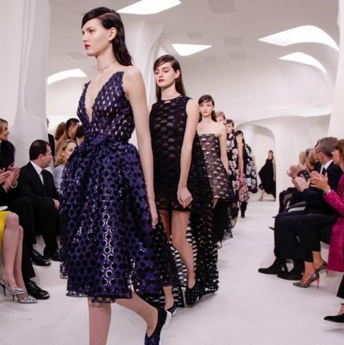 Показ кутюрной коллекции Christian Dior  весна-лето 2014