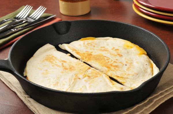Кесадилья на завтрак