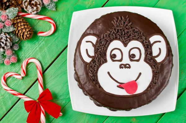 Блюда в виде обезьяны