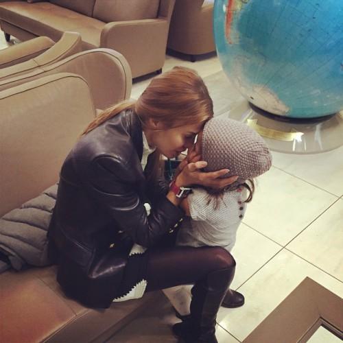 Виктория Боня показала трогательное фото с дочерью