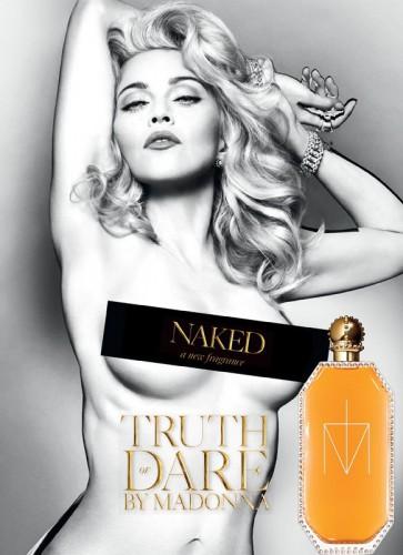 Мадонна представила пикантную рекламу своего нового аромата