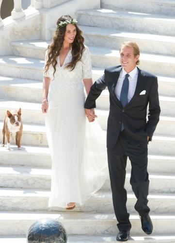Андреа Казираги, второй наследник престола Монако, женился