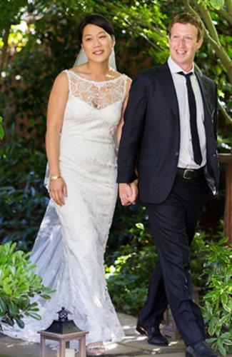 Платьем супруги миллиардера Марка Цукерберга никто не заинтересовался