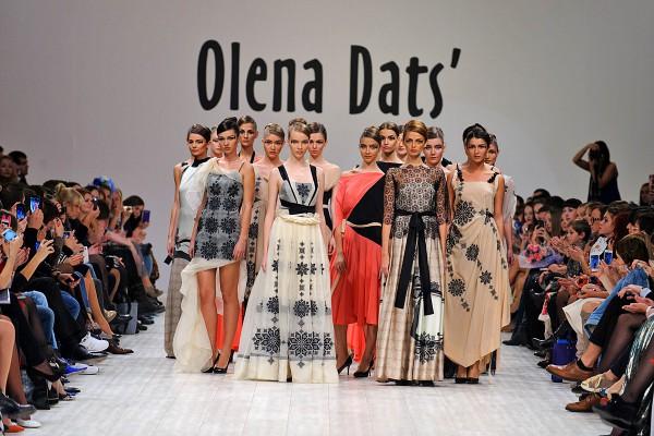 Коллекция весна-лето 2014 Olena DATS'