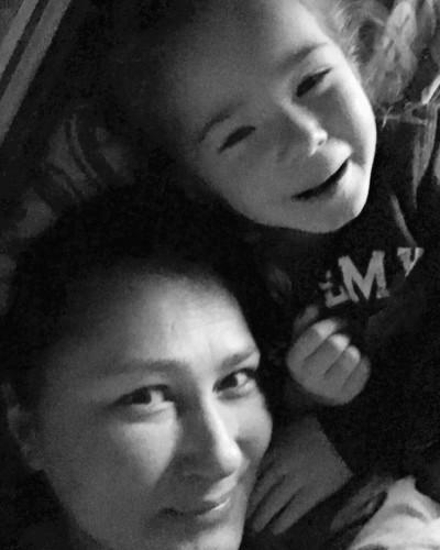 Алёна Мозговая с дочерью фото