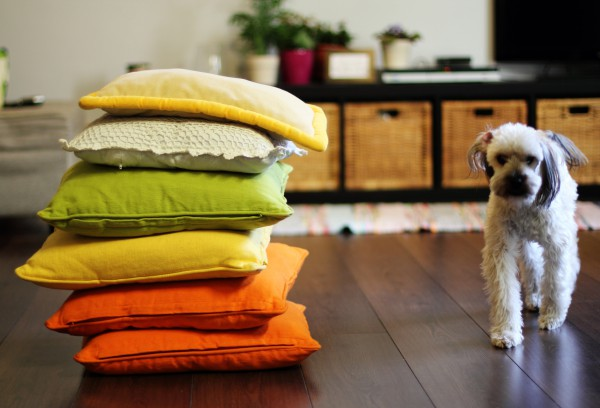 Изюминка интерьера – декоративные подушки