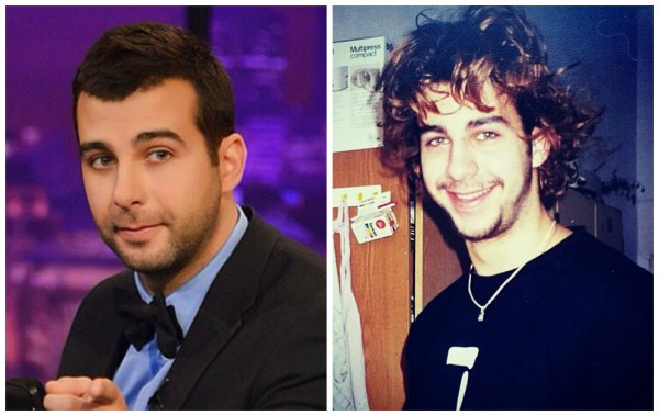 Ургант показал фото, когда ему было 18 лет (справа)