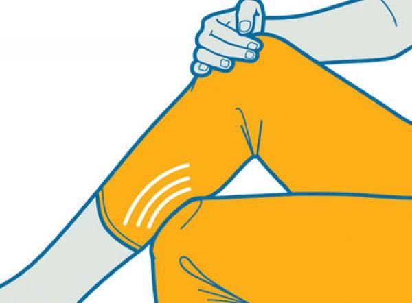 Как облегчить боль в районе голени