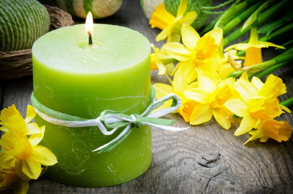 Желтый цвет - символ жизненной силы, радости, света; зеленый - олицетворение природы и свежести