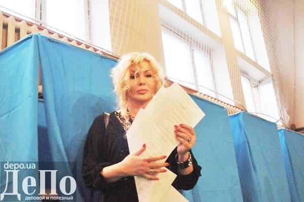 Ирина Билык рассказала, за кого она проголосовала