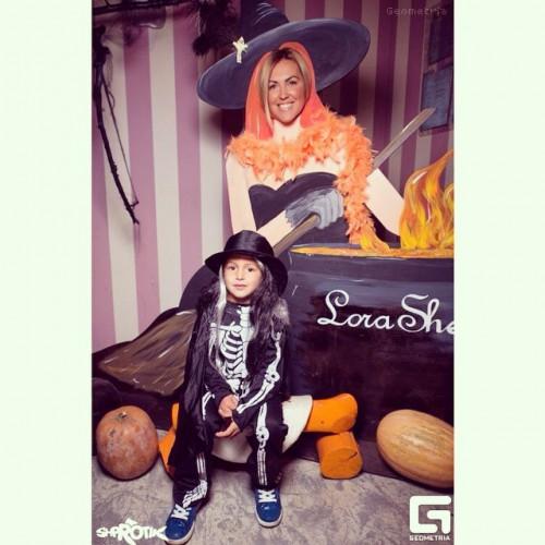 Яна Клочкова показала, в каком образе ее сын празднует Хэллоуин