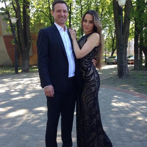 Андрей Гриненко с супругой
