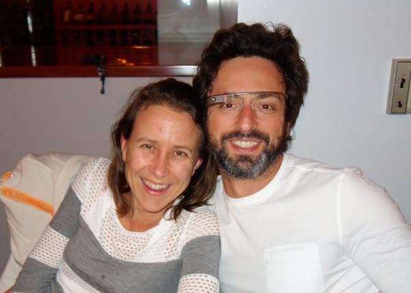 Сергей Брин и Анна Войжитски